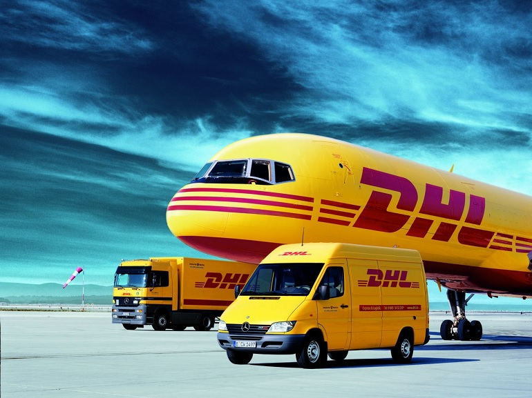 DHL shipping PLANET3